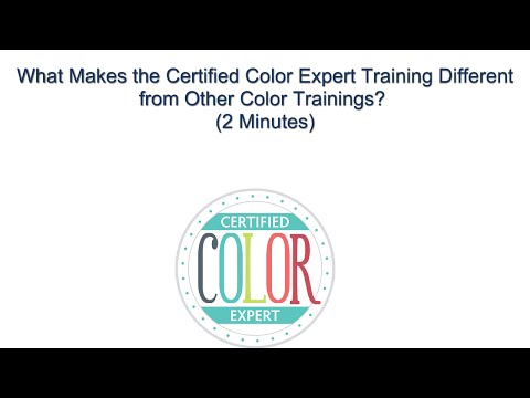 Certified Color Expert Training - What Makes this Color Certification ...