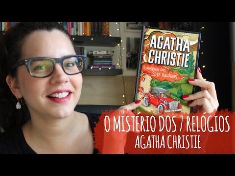 O MISTÉRIO DOS 7 RELÓGIOS, de Agatha Christie (LIVRO 10) | BOOK ADDICT