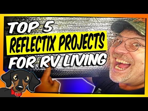 🔴Top 5 RV Reflectix project and insulation tips for your RV