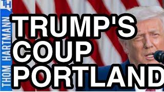 Trump's Secret Police Stage Coup In Portland! (w/ Ken Klippenstein)