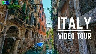 Instrumental Italian Music With A Beautiful Italy Tour (Venice, Rome, Florence) Música Italiana