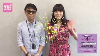 YUI CHANNEL VOL 313 feat SHINICHI OSAWA at avex 731 TUE 2018