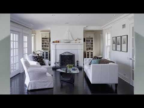 Wohnzimmer dunkler boden ideen   Haus Ideen
