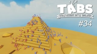 TABS #34 - Catapultas no Cañones!  Piramide y Teslas | Gameplay Español
