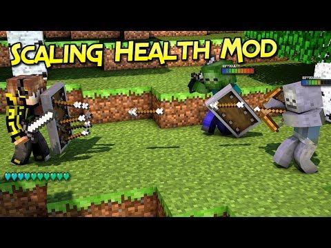 Scaling Health Mod| Dificultad Progresiva – Épico  | Minecraft 1.12 – 1.10.2 | Mod Review En Español