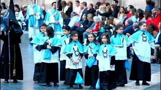 preview picture of video 'Viernes Santo Procesión Murcia Semana Santa 2015 España'