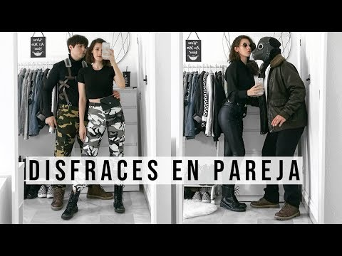DISFRACES EN PAREJA FÁCILES PARA HALLOWEEN | Dresslily haul · Cristina Marín