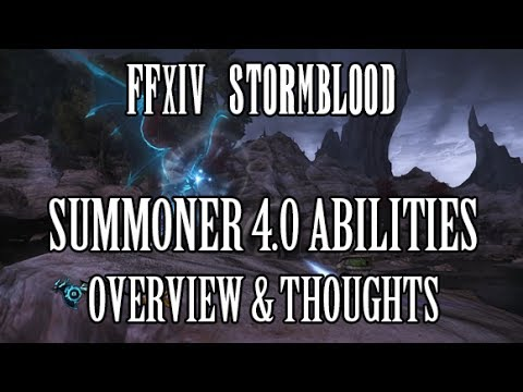 Ffxiv summoner controller and dps guide [wxhb edition]