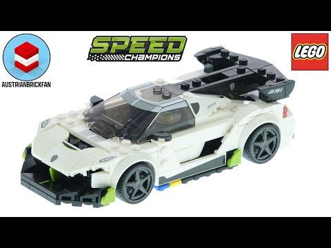 Vidéo LEGO Speed Champions 76900 : Koenigsegg Jesko