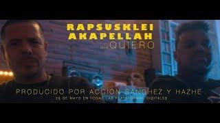 Video Soy Lo Que Quiero de Rapsusklei feat. Akapellah