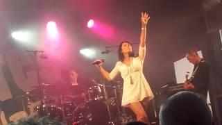 """Anggun """" Cesse la pluie """"02/07/16 Vouilé"""