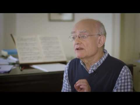 John Rutter discusses the power of choral singing