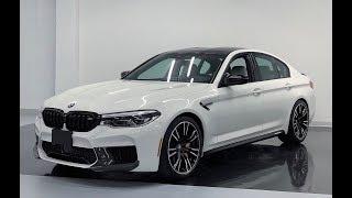2019 BMW M5 COMPETITION M PERFORMANCE - Revs + Walkaround in 4k