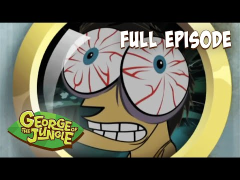 George Of The Jungle   Afraid of Nothing   HD   English Full Episode   Funny Cartoons For Kids