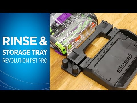 How to Assemble, Use the Rinse & Storage Tray with ProHeat2X® Revolution™ Pet Pro