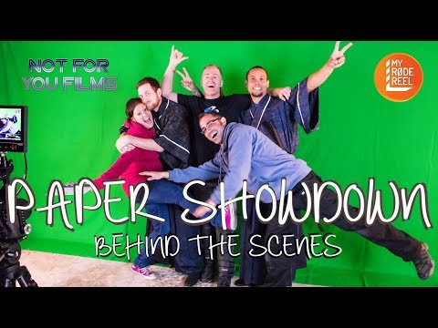 Paper Showdown BTS