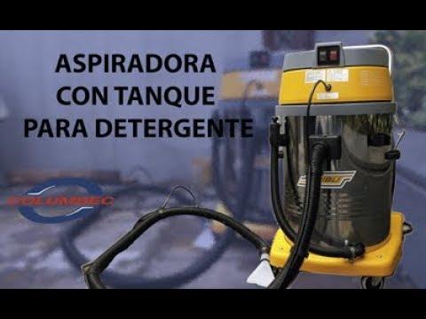 Aspiradora con tanque para detergente (LAVAMOQUETAS)
