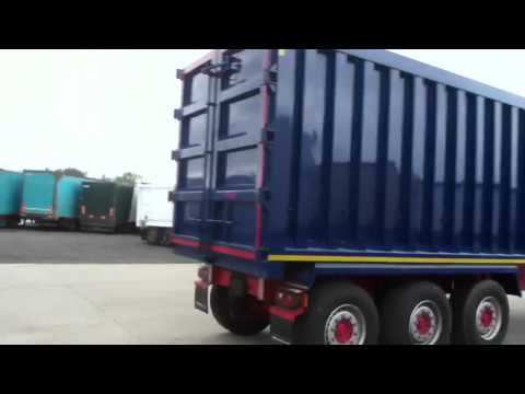 Blue Montracon Tipper