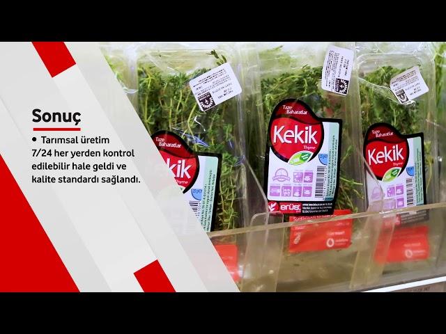 Vodafone Business Erüst Tarım'a nasıl destek oldu?