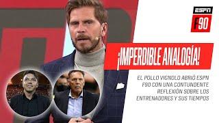 LA IMPORTANCIA DEL TIEMPO: ¡Imperdible analogía de #Vignolo sobre los entrenadores argentinos!