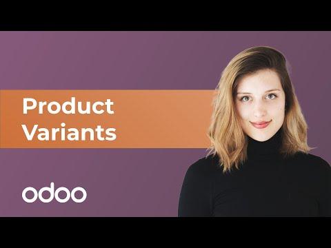 Produktvarianten | odoo Verkauf