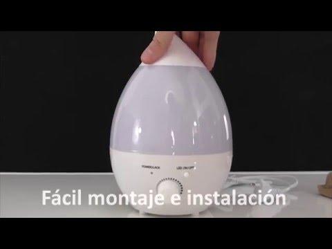 Humidificador Ultrasónico de Aceite Perfumado VicTop® con 7 Luces LED