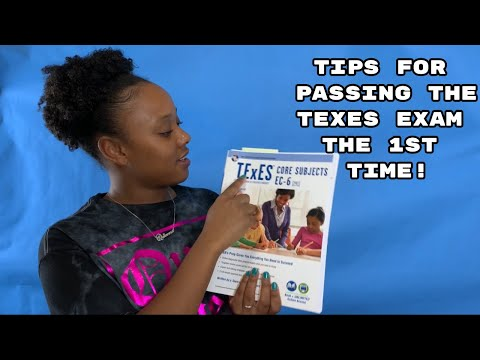 Tips for Passing the TExES exam the 1st time! Part 1 - YouTube