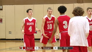Highlights: St. Bernard 74, Stonington 68