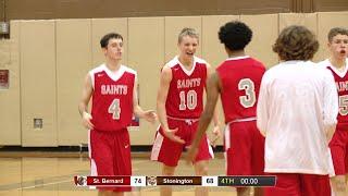 Highlights: St. Bernard 74, Stonington 68