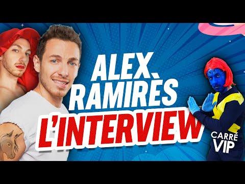 Alex Ramirès l'interview dans Carre Vip sur RTS
