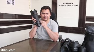 Nikon 70-200mm F/2.8E FL VR Lens - Unboxing (Hindi)