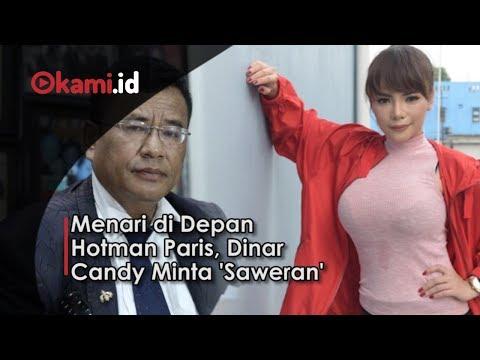Menari di Depan Hotman Paris, Dinar Candy Minta 'Saweran'