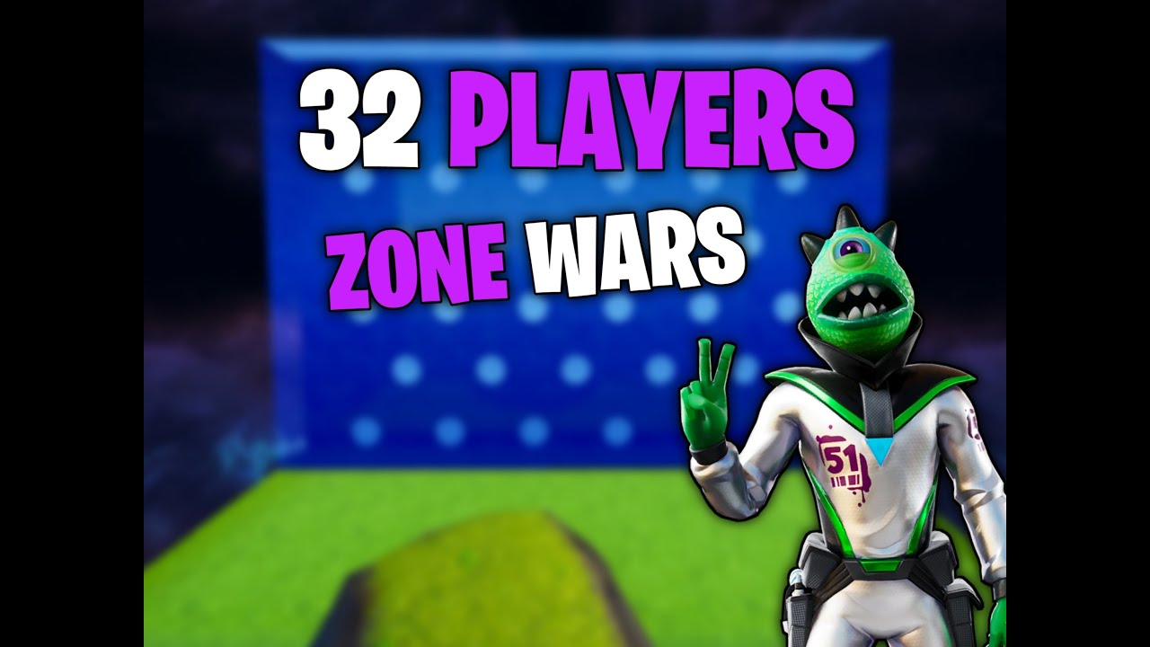 32 Players Zone Wars 5295-5891-6929 by yt-droia