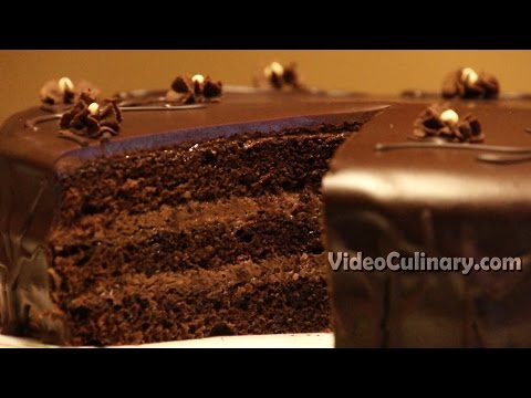 Video Easy Chocolate Cake Recipe - Video Culinary