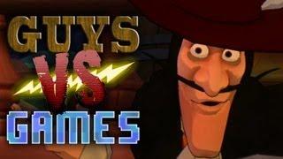 Captain Hook Nutshot (EP03) - XBox 360 Kinect - Guys VS Games