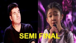 "Angelica Hale ""Without You"" by David Guetta Ft. Usher - Semi Finals America"