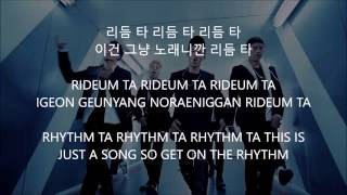 RHYTHM TA - iKON [Han,Rom,Eng] Lyrics