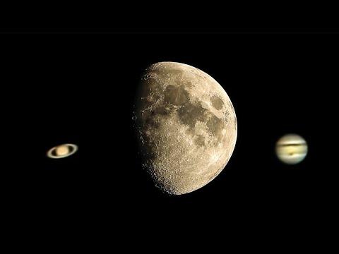 Jupiter Knocking on Luna's Door & Saturn Follows Behind