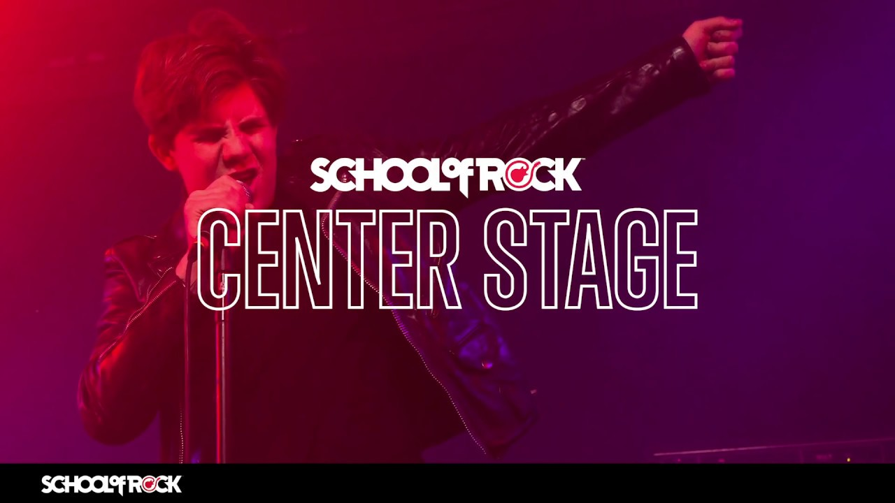 Introducing School of Rock Center Stage