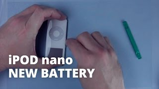 How To Replace The Battery In An IPod Nano