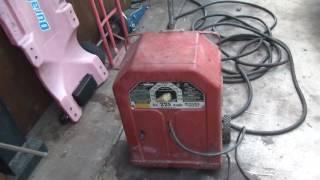Lincoln AC225 Welder Restoration Repair Test