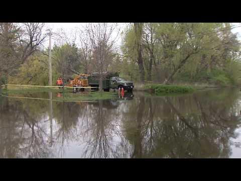 Toronto Island Park Flooding Video