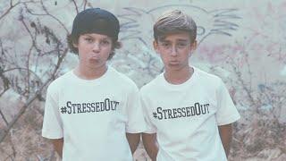 LYRICS twenty one pilots - Stressed Out (Hayden Summerall & Johnny Orlando Cover)
