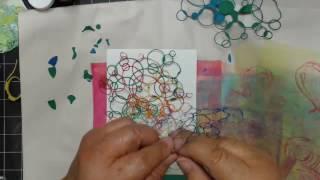 Bleeding Art Tissue~Heartfelt Creations Under The Sea Cards