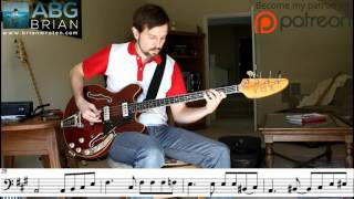 Fleetwood Mac - Blue Letter - Bass Transcription