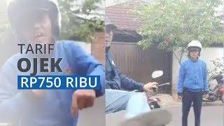 VIRAL Penumpang Ngaku Dipaksa Naik, Ternyata Tarif Ojek hingga Rp750 Ribu