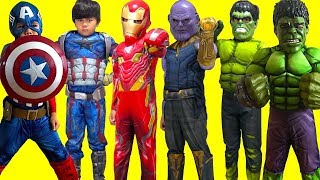 KIDS COSTUME RUNWAY SHOW BEST MOMENTS Superheroes Marvel Hulk DC Disney Dress Up Fun! TBTFUNTV