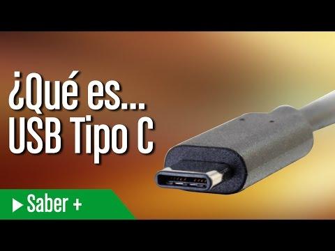 ¿Qué es...USB Tipo C?