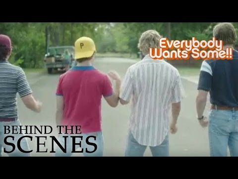 Video trailer för EVERYBODY WANTS SOME | In the Car | Official Behind the Scenes