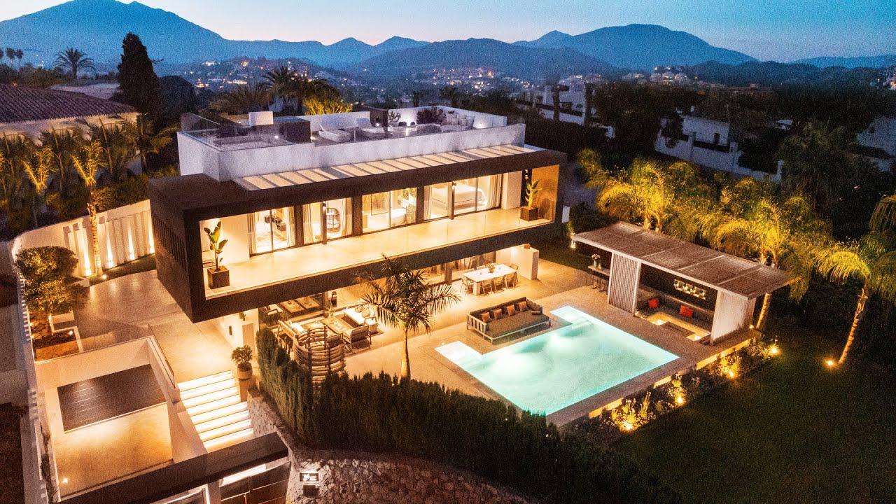 New Modern High-End Stylish Villa with Sea Views in Las Brisas, Nueva Andalucía